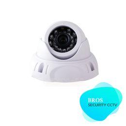 700TVL CMOS Color Surveillance CCTV Indoor Dome Camera Security 24 IR White