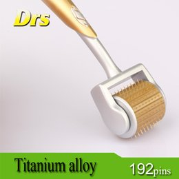 ZGTS derma roller 192 titanium Micro needles Skin Roller for skin care, wrinkle remove and hair loss treatment