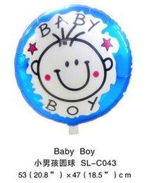 Wholesale New birthday aluminum balloon child banquet decoration balloon