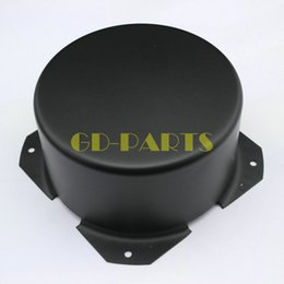 Wholesale Home Audio Video Equipments Amplifiers PC mm Black Iron Round Transformer Cover Enclosure Vintage Tube Amps DIY