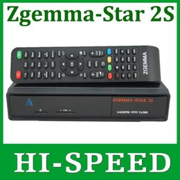 Wholesale Original ZGEMMA STAR S Digital Satellite TV Receiver Two DVB S2 Tuner Enigma2 Linux box Zgemma star S