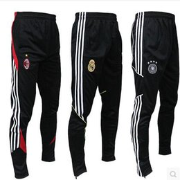Wholesale Soccer Tracksuit Free Shipping - .20 Style Football Pants Soccer Training Pants Leg Pants Legs Track Casual Pants Breathable Sports Trousers Tracksuit Free Shipping