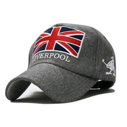 Bretaña Reino Unido gorra de béisbol Inglaterra por mayor-paño 1pcs 3color sombrero de invierno masculinos femeninos el envío libre desde casquillo bretaña fabricantes