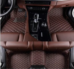 Wholesale Good quality Custom special floor mats for Mercedes Benz GL Class X164 seats Easy to clean carpets for GL