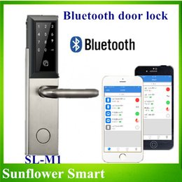 Wholesale Digital Smartphone Door Lock For House Apartments More Safe and Convenient
