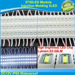 Wholesale LED Modules light V waterproof LEDs Injection molding LED Module high lumen super bright led modules lighting