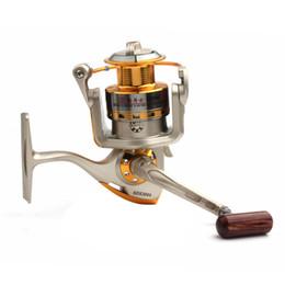 Wholesale 3000 Series Balls Spinning reels Bearing fishing tackle Metal Salt Water Fishing Reel FHG_006
