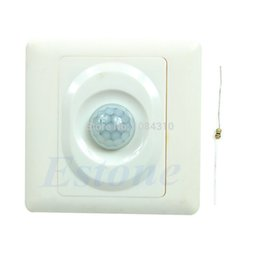 Wholesale Hot Sale pc Infrared IR PIR Switch Module Body Motion Sensor For Auto On Off LED Lights