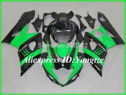 Wholesale 2015 motorcycle fairing kit for SUZUKI GSXR GSX R GSXR K5 Advanced green black trim set