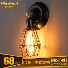 Wholesale Mixed batch of Mi Luolan factory direct IKEA LED Ceiling Lighting creative retro balcony