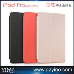 Wholesale Hoco Juice Series Nappa Ultra thin Leather Silicon Back Case For Apple iPad Pro Tablet Protection Case