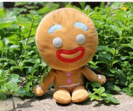 Wholesale Bigheadz doll cm pelucia shrek gingerbread homem de gengibre toy gift of a man the son of man shrek plush Genuine Shrek