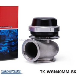 Wholesale Tansky High Quality New Turbo Wastegate Waste Gate MM For Universal Have In Stock TK WGN40MM BK PSI