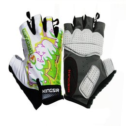 Wholesale bicycling gloves Semi refers to the bicycle riding sports car fitness climbing mountain bike riding martial arts equipment gloves