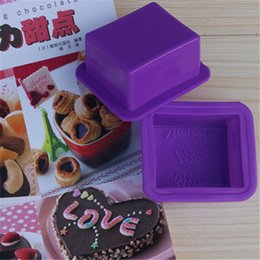 Wholesale Factory outlets trumpet Soap Marseille Soap silicone cake mold jelly pudding mold