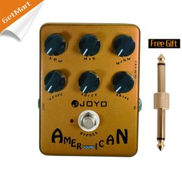 Wholesale Joyo JF American Sound Effects Pedal with Fender Deluxe Amp Simulator and Unique Voice Control pedal