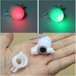 Wholesale Mini Portable Sea Coarse Fishing LED Rod Tip Clip on Fish Bite Alarm night light strike Alert Glow Warning Bulb Lights