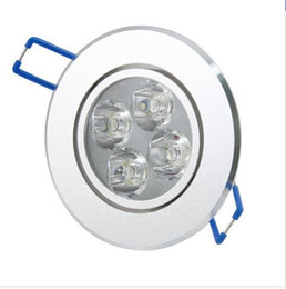 4*3W 12w LED Ceiling Down Light Indoor Spot Lamps AC 85-265V Warm White Cool White Free Shipping