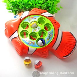 Queen music playing in the water fishing fishing playsets game baby toys wholesale electric child fishing