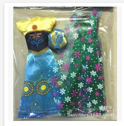 Wholesale 11 inches cinderella american girl doll clothes Princess clothing suit Princess cloth R0266