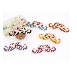 Wholesale Min order is mix order European And American Fashion Personality Exaggerated M Word Flag Avanti Beard Opening Ring j158