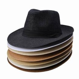 Wholesale Brand New Women Men Straw Hat Soft Wide Brim Beach Sun Caps With Ribbon Ornament Colors Choose DUP