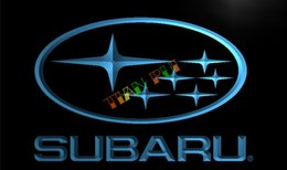 Wholesale LG031 TM Subaru Car Racing Services NEW Neon Light Sign Advertising led panel