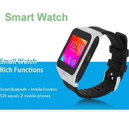 Wholesale Bluetooth smart watch phone M camera X240pixel touch screen android s29 smart watch FM MP3 Voice recorder multi Language DHL free
