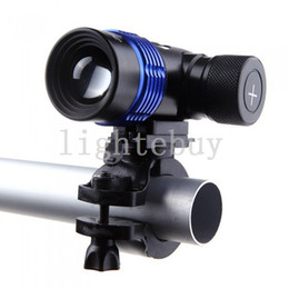 Wholesale al por mayor Nueva ampliable LM RGB Modos de configuración XML XM L T6 LED de la linterna del faro de luz LED de la bicicleta de la lámpara de la batería recargable