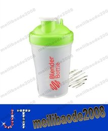 Wholesale Colored Blender Bottle protein Shaker Mixing bottle with Wire whisk ML MYY13187A