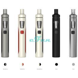 Wholesale Original Joyetech EGo AIO Start Kit All in one Style Device With mAh Battery and ml e Juice Capacity e Liquid illumination LED Light