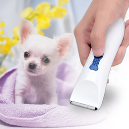 Wholesale perro cachorro Electric Cordless Pet Products Animals Dog Cat Clipper Hair Trimmer Hair Cutter Shaver Hairdressing Grooming Tool H16594