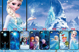 Wholesale Hot Sale New Arrive Cute Lovely Beautiful Frozen Olaf Anna Elsa Hard Back Cover Case For Iphone S s c touch