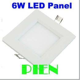 Оптово-6W Светодиодный потолочный светильник поделки ультратонкие 100мм 2835 30leds лампа круглая панель для 85 Lampara перед обеими ~ 265V CE RoHS по DHL 30pcs / много от Поставщики lampara панель