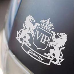 Wholesale 1pcs cm cm VIP The Lion Funny Cartoon Car Sticker JDM Window Sticker Vinyl Decal Body Decoration Accessories Car Styling
