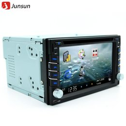 Wholesale New din car dvd player radio gps Navigator universal Bluetooth double din touch screen car stereo Free map update