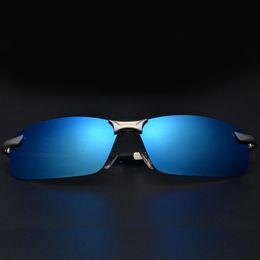 Wholesale Polarized Casual Sunglasses REVO Color Coating UV TAC Lenses Alloy Half Frame Fishing Sport Outdoor Sunglasses DHL Shipping