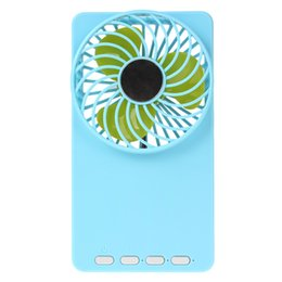 Wholesale 6pcs Multi functional Portable Rechargeable Mini USB Fans with Speed Modes for Baby Office EGS_712