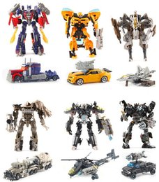 Wholesale New Movie Transformation Robot Car Megatron Transformer Brinquedos C Toys Classic Anime Action Figures Holiday Gift for boy