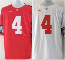 Wholesale Factory Outlet Curtis Samuel Jerome Baker Championship Diamond Quest Ohio State Buckeyes NCAA College Football Jerseys Free Shippin