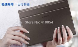 Wholesale-1:1 Original Case for Samsung Galaxy Tab S 10.5 T800 T805,Business Stand Tablet Leather Case Cover +one stylus free