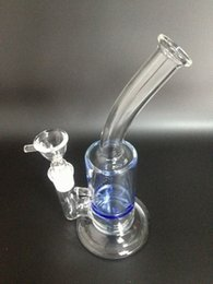 Wholesale New Glass bong glass smoking pipe with turbine perc inches high for Sale GB