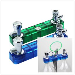 Wholesale Hot Selling Blue or Green D501 DIY CO2 Generator Check Valve Planted Aquarium Kit Set