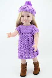 Wholesale Newest Handmade Lifelike Classic girl Toy Full Silicone All American Inches Girl Dolls For Children Beautiful Long blond wig