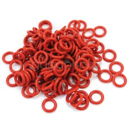 Wholesale Dark Red Keycap Rubber O Ring Switch Dampeners For Cherry MX Replace Part