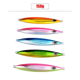 5pcs Lead fish 150g fishing lure 5 color fishing Bait Casting Lure Deep sea Jig Fishing Tackle Exported to Japan