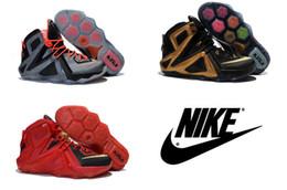 Wholesale Nike Lebrons XII Elite Mens basketball shoes Cheap Original Quality Nike Mens lebron Elite Shoes Basketball sneakers