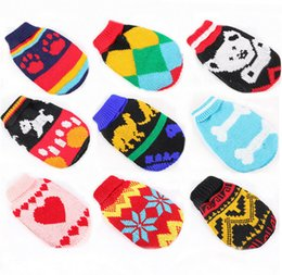 Wholesale Pet Dog Sweater Warm Knitting Crochet Clothes for Dog Chihuahua Dachshunds Pitbull Sweater Knitwear Apparel Chrismas Sizes