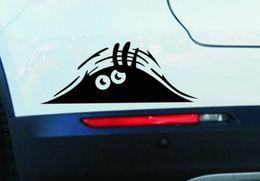 Wholesale Best price cm Funny Peeking Monster Auto Car Walls Windows Sticker Graphic Vinyl Car Decals Car Stickers Accessories