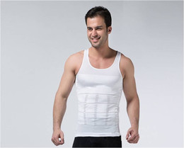 Wholesale Hot mens slimming body shaper polo Ralph male Casual Fitness compression Fitness polo Shirts faja reductora boss